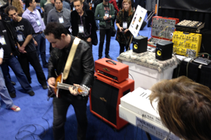 Blues Saraceno Chandler Limited GAV19T NAMM 2013