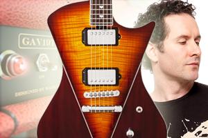 Chandler Limited GAV19T - Ernie Ball Music Man Armada Electric Guitar - Blues Saraceno