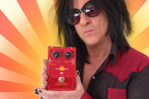 Steve Stevens uses the Little Devil Colored Boost on tour with Billy Idol