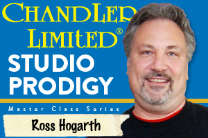 Chandler Limited Co-Sponsors Ross Hogarth Studio Prodigy Master Class Series Session