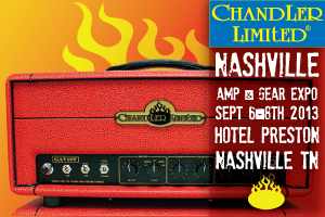 Chandler Limited Nashville Amp Gear Expo