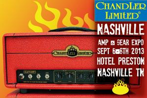 Chandler Limited Nashville Amp Gear Expo