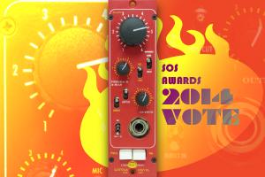 Chandler Limited Little Devil Pre Amp nominated for the SOS 2014 Awards