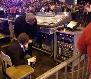 Kevin Lemoine FOH Mixer Green Day with Wade Goeke of Chandler Limited