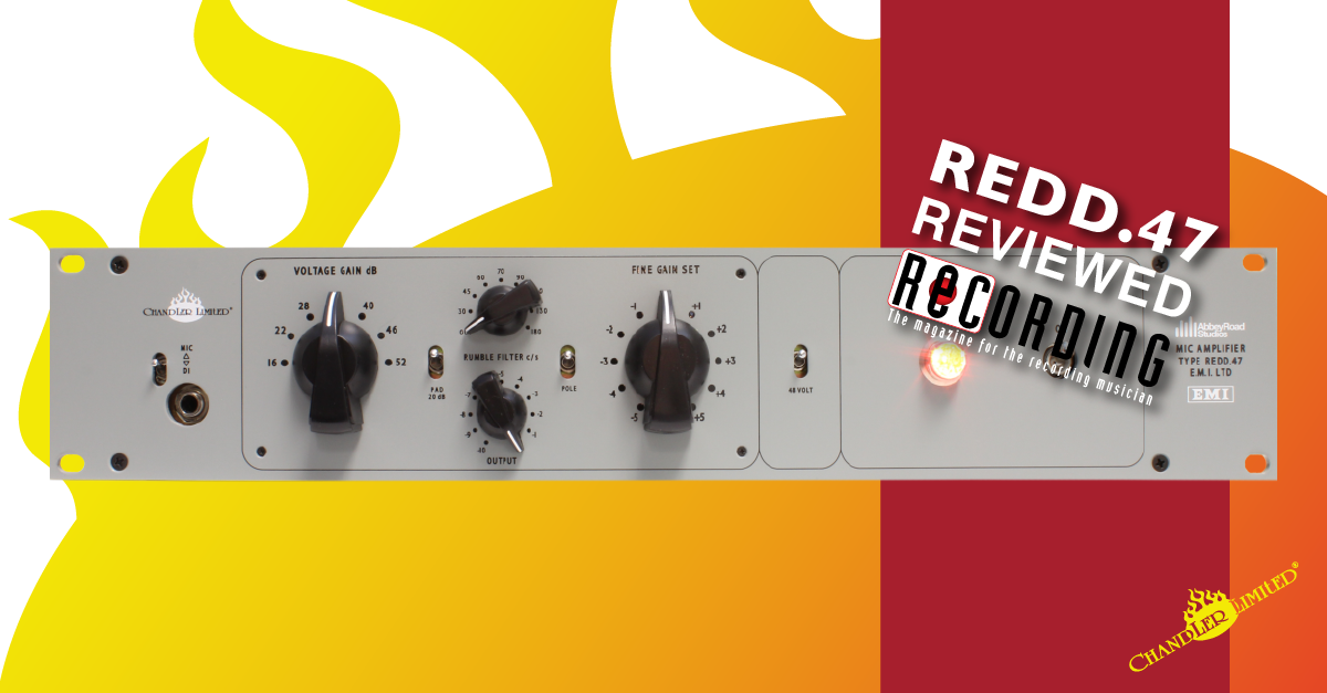 REDD-47-Pre-Amp Recording Magazine Review January 2015