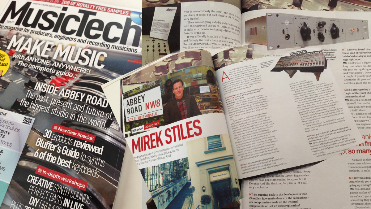 Abbey Road Studios - Chandler Limited - MusicTech Magazine