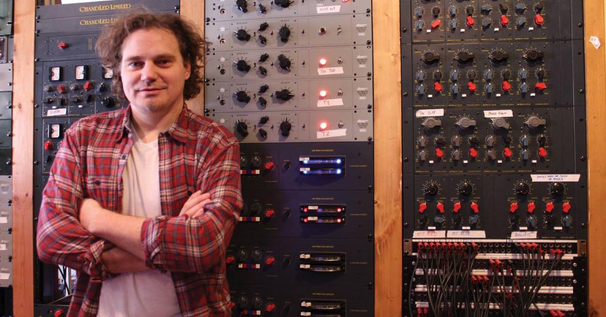 Chandler Limited Wade Goeke MusicTech Magazine - Abbey Road Studios