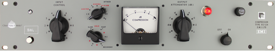 Chandler Limited RS124 Compressor - EMI Abbey Road Studios