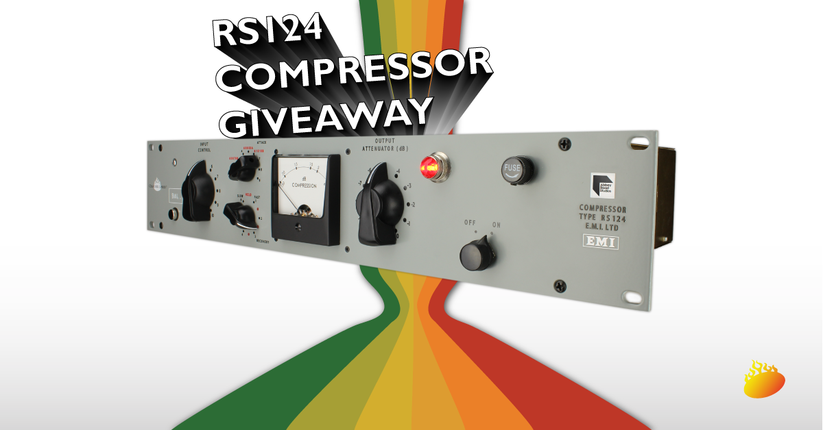 Chandler Limited RS124 Compressor Giveaway Drawing EMI Abbey Road Studios