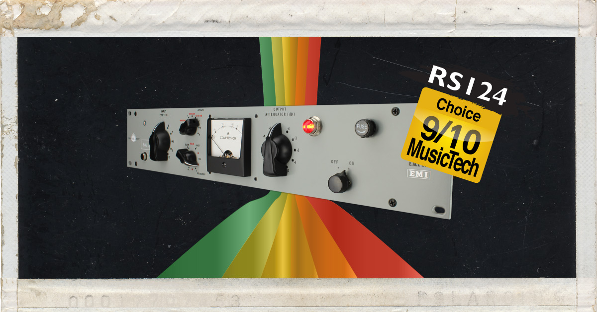 Chandler Limited RS124 Compressor MusicTech Review - EMI Abbey Road Studios