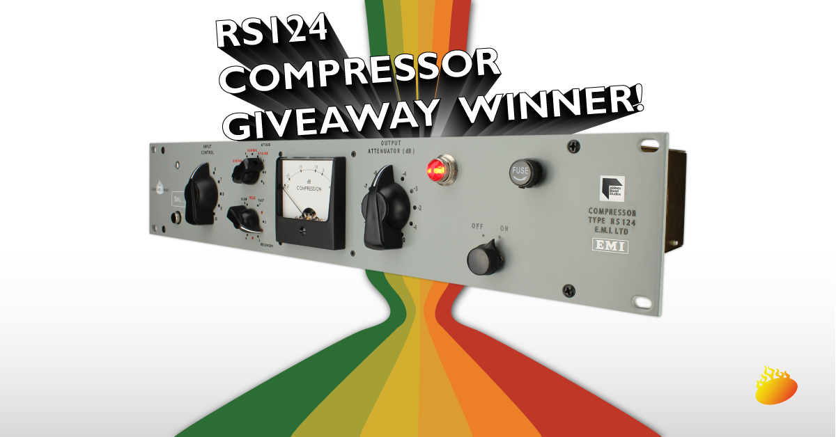 Chandler Limited RS124 Compressor, EMI, Abbey Road Studios, Giveaway Winner