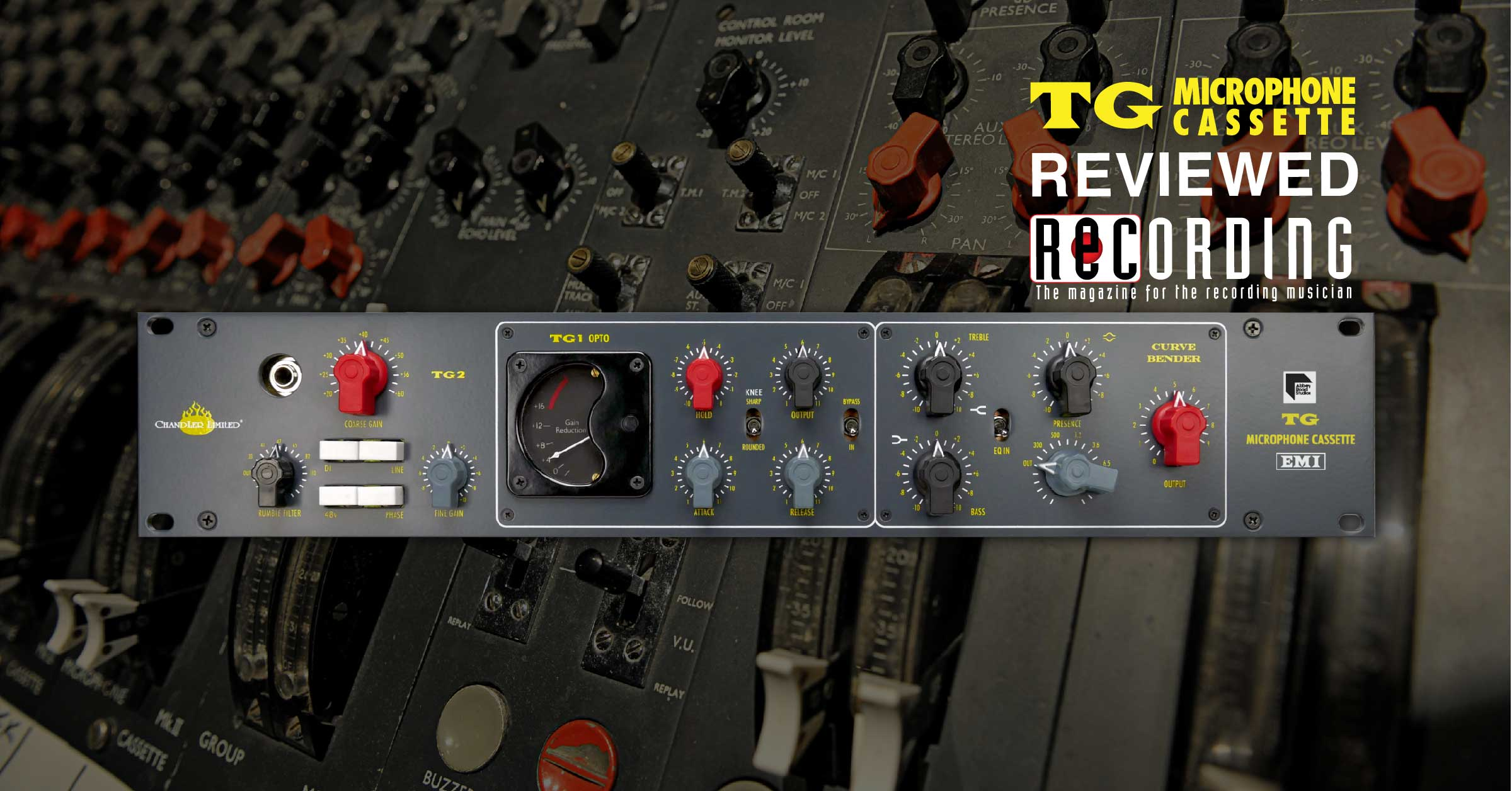 Chandler Limited Abbey Road Tg Microphone Cassette Recording Audio Circuits July 2009 Amplifier Circuit Equalizer Mixer Emi Studios Magazine