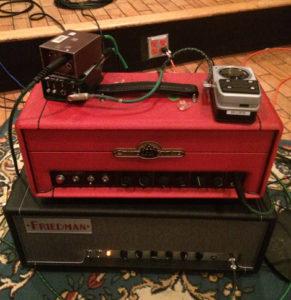 Chandler Limited, GAV19T Guitar Amplifier, Blues Saraceno, Ross Hogarth