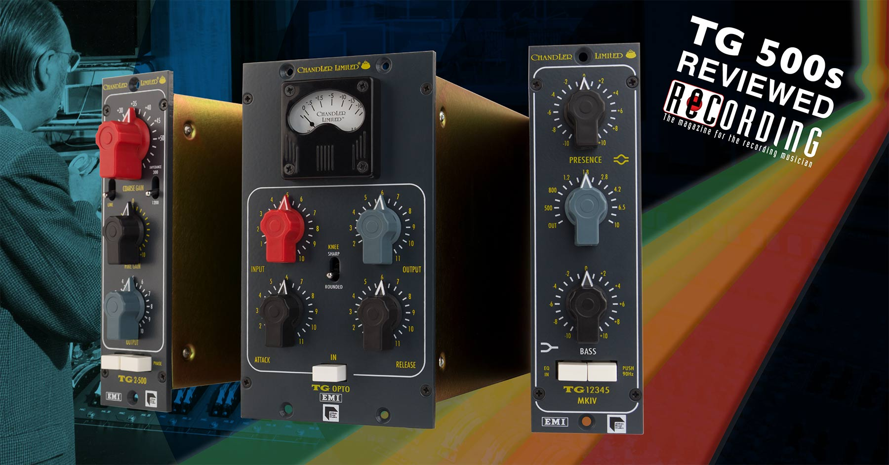 Chandler Limited Abbey Road TG12345 MKIV EQ and TG Opto Compressor, Recording Magazine Review