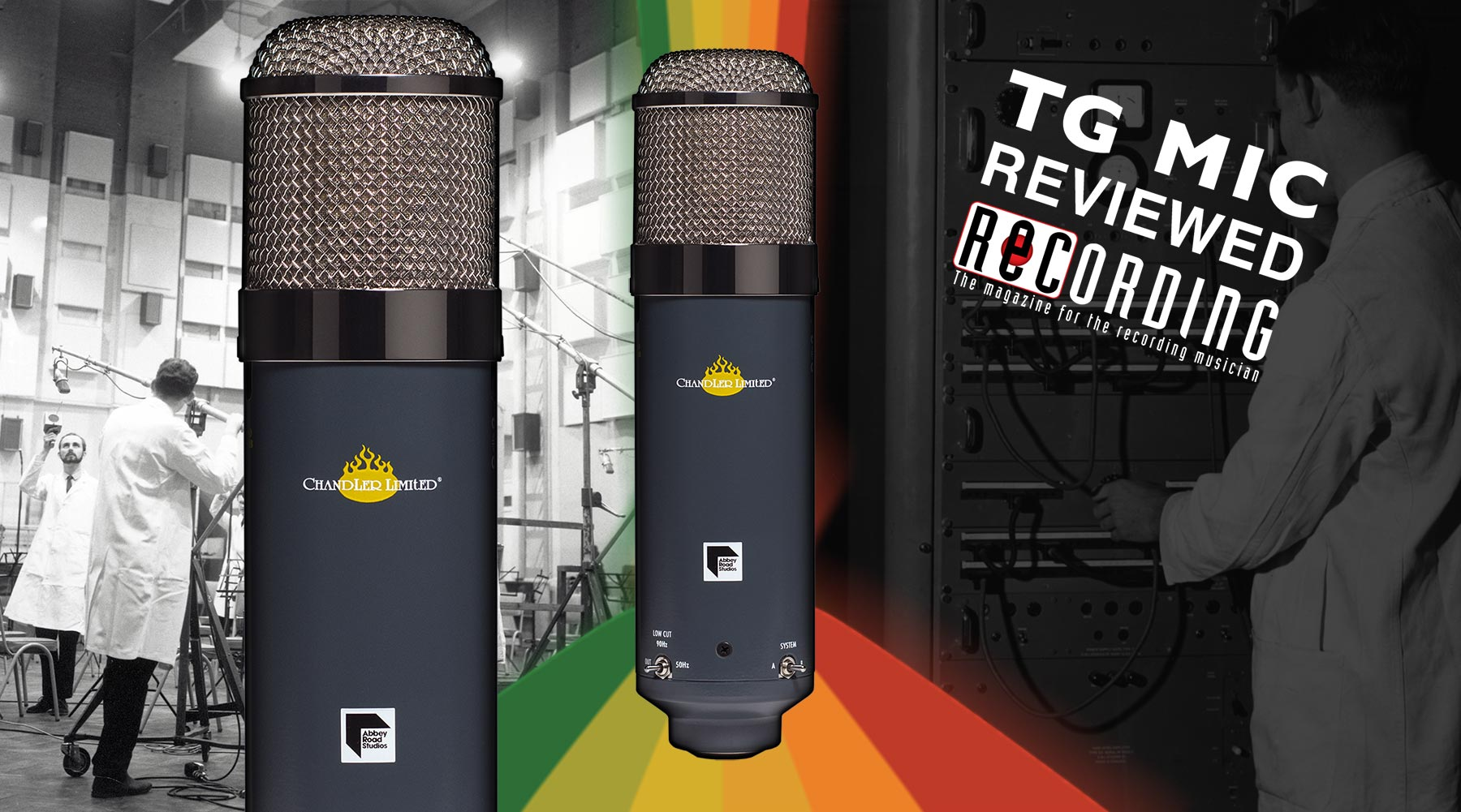 Chandler Limited EMI Abbey Road TG Microphone Review Recording Magazine fb