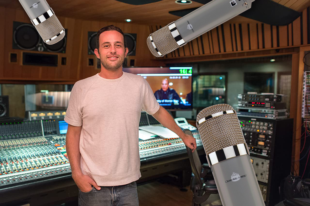 Greg Hayes, Redd Microphone, Chandler Limited, Abbey Road Studios, Film, Television, Scoring Mixer